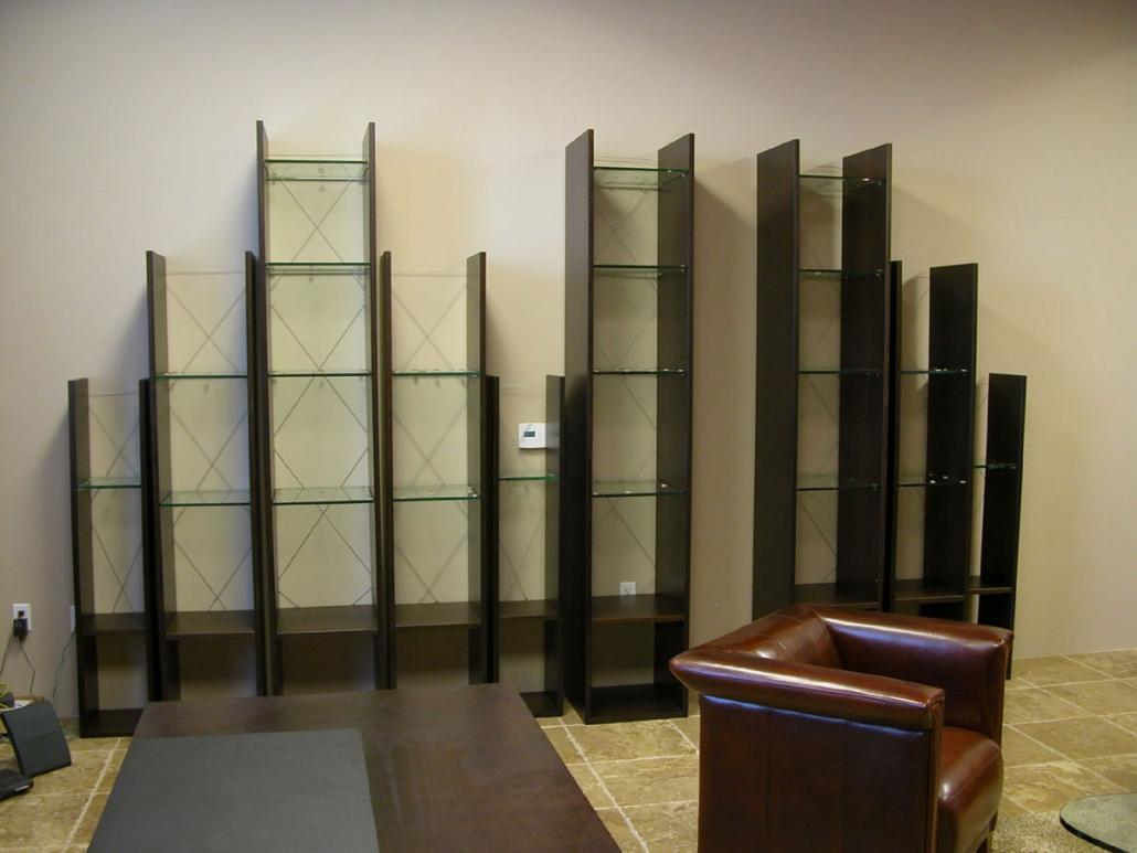 White oak display units