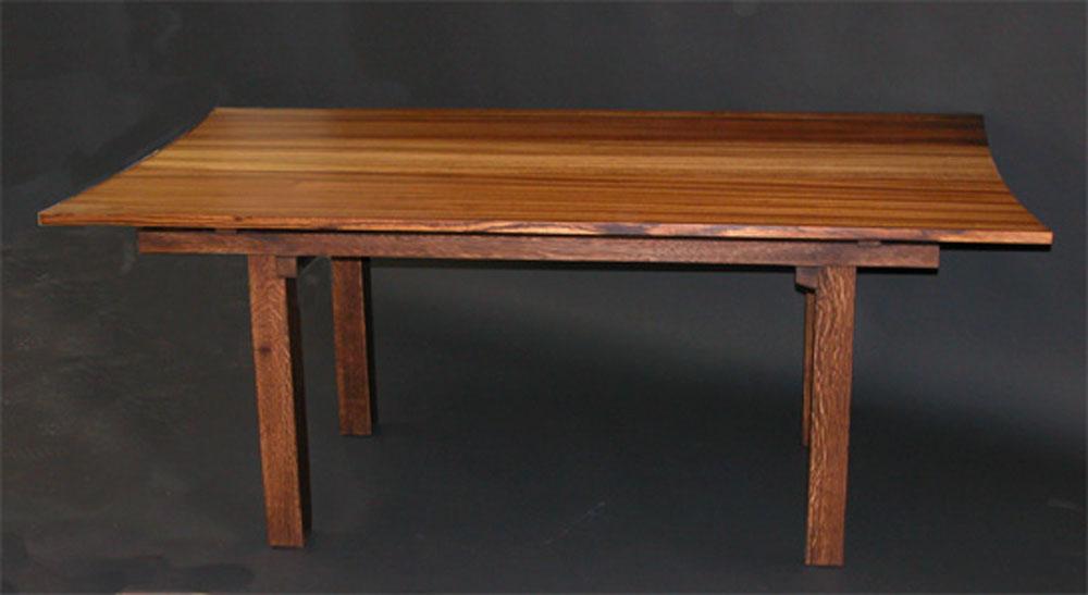 Zebrawood table 2